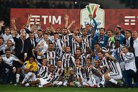 Esultanza Juventus con la coppa celebration <br /> Roma 09-05-2018  Stadio Olimpico  <br /> Football Calcio Finale Coppa Italia / Italy's Cup Final 2017/2018 Juventus - Milan<br /> Foto Andrea Staccioli / Insidefoto