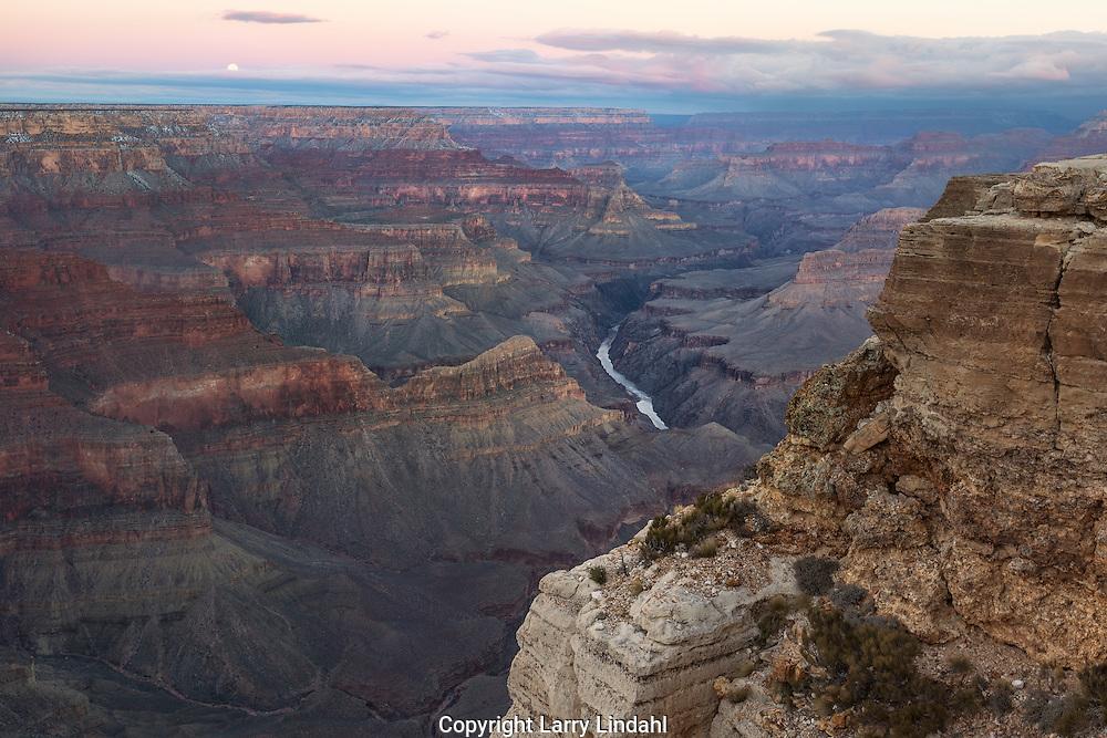 Grand Canyon, sunrise, Mojave Point, Colorado River, West Rim, Arizona,