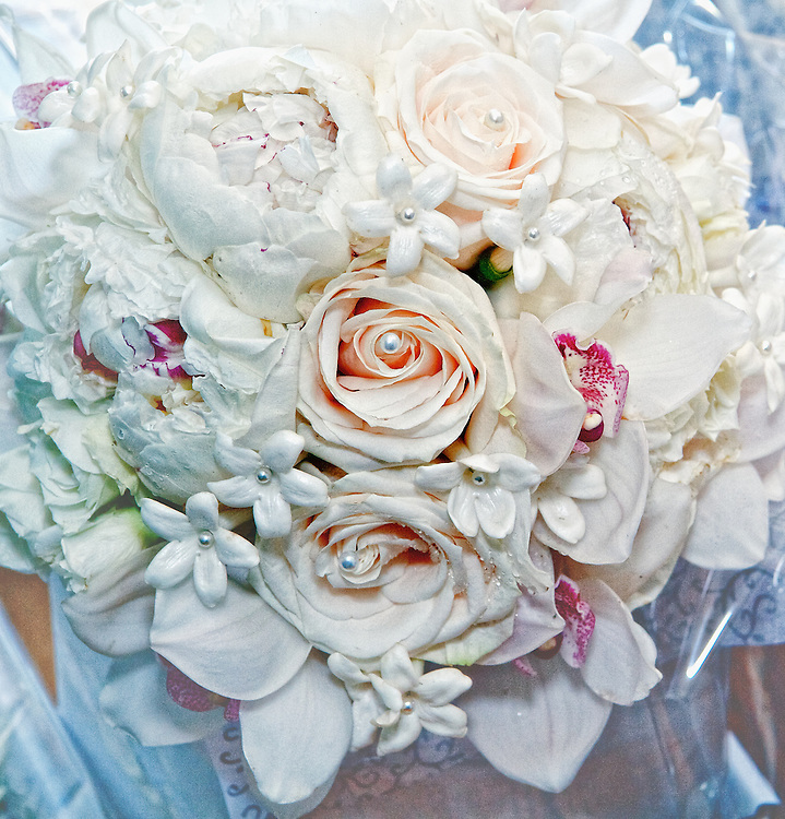 The bride's beautiful bouquet