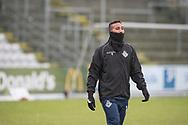 FODBOLD: Douglas Ferreira (FC Helsingør) under opvarmningen til kampen i ALKA Superligaen mellem OB og FC Helsingør den 11. februar 2018 på Odense Stadion, EWII Park. Foto: Claus Birch.