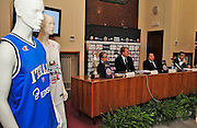 Pesaro , 06/03/2012<br /> Basket, conferenza stampa presentazione all star game 2012<br /> Nella foto: panoramica<br /> Foto Ciamillo