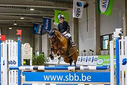 De Dycker Lien, BEL, Ten Ankers Freeanca<br /> Nationaal Indoor Kampioenschap Pony's LRV <br /> Oud Heverlee 2019<br /> © Hippo Foto - Dirk Caremans<br /> 09/03/2019