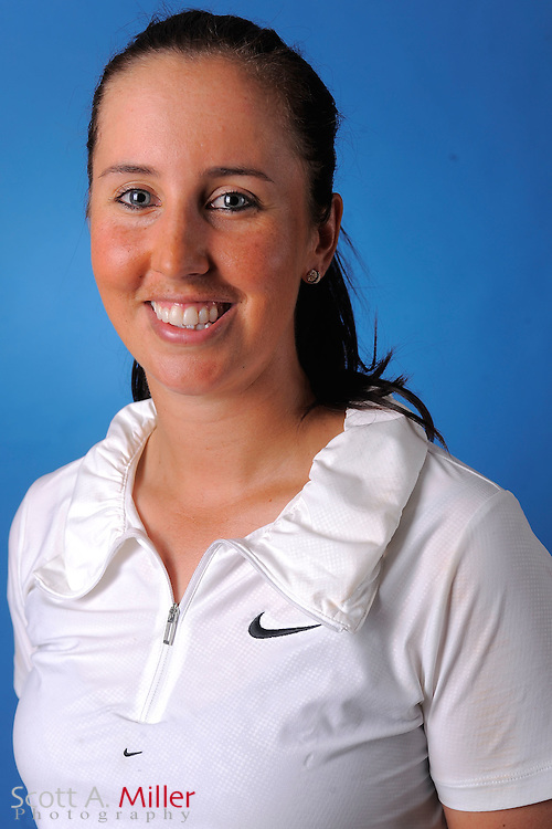 Kristie Smith during a portrait session prior to the second stage of LPGA Qualifying School at the Plantation Golf and Country Club on Sept. 25, 2011 in Venice, FL...©2011 Scott A. Miller