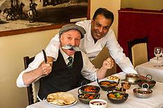 Paw Broon gets stuck into curry | Edinburgh | 30 January 2017