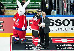 SEGUIN Tyler, MVP of Canada during Ice Hockey match between Canada and Belarus at Quarterfinals of 2015 IIHF World Championship, on May 14, 2015 in O2 Arena, Prague, Czech Republic. Photo by Vid Ponikvar / Sportida