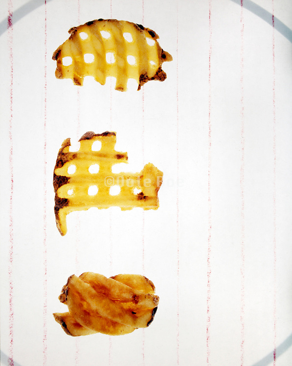 potato chips slices