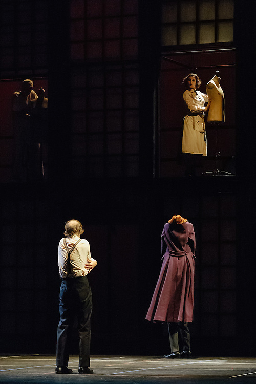 The Canadian Stage production of The Overcoat, at the St James Theatre in Wellington during the New Zealand International Festival of the Arts. <br />