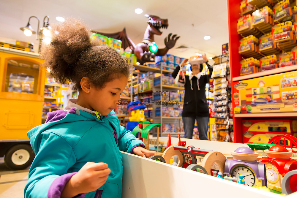 Benjo, a toy store for children located in the heart of the Saint-Roch district in downtown Quebec City.