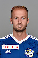 15.07.2016; Luzern; Fussball - FC Luzern;<br />Migjen Basha (Luzern)<br />(Martin Meienberger/freshfocus)
