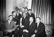 19/2/1966<br /> 2/19/1966<br /> 19 February 1966<br /> <br /> (L-R)<br /> J.J. Boyle, Michael Noonan, Paddy Maher, Herbert Gow, Liam O'Donnell, Hugh Ryan, Denis Knox