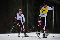 REMIZOVA Elena Guide:  YAKIMOVA Natalia RUS at the 2014 IPC Nordic Skiing World Cup Finals - Long Distance