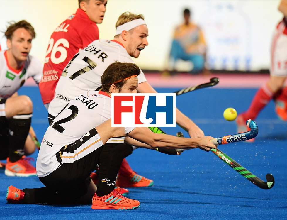 Odisha Men's Hockey World League Final Bhubaneswar 2017<br /> Match id:01<br /> Germany v England<br /> Foto: R&Uuml;HR Christopher and MILTKAU Marco<br /> WORLDSPORTPICS COPYRIGHT FRANK UIJLENBROEK