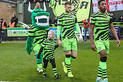 Mascot during the EFL Sky Bet League 2 match between Forest Green Rovers and Exeter City at the New Lawn, Forest Green, United Kingdom on 1 January 2020.