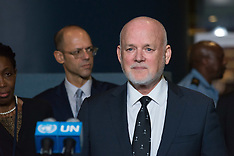 New york: UNSMIL speaks to the press at the Security Council stakeout at UN Headquarters, 13 Sep