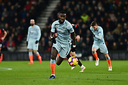 Chelsea Defender, Antonio Rudiger (2) during the Premier League match between Bournemouth and Chelsea at the Vitality Stadium, Bournemouth, England on 30 January 2019.