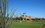 The Madera Club House at Quail Creek in Green Valley, Arizona, USA.