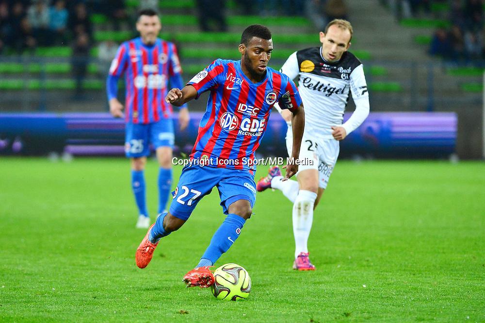 Thomas LEMAR - 25.04.2015 - Caen / Guingamp - 34eme journee de Ligue 1<br /> Photo : David Winter / Icon Sport