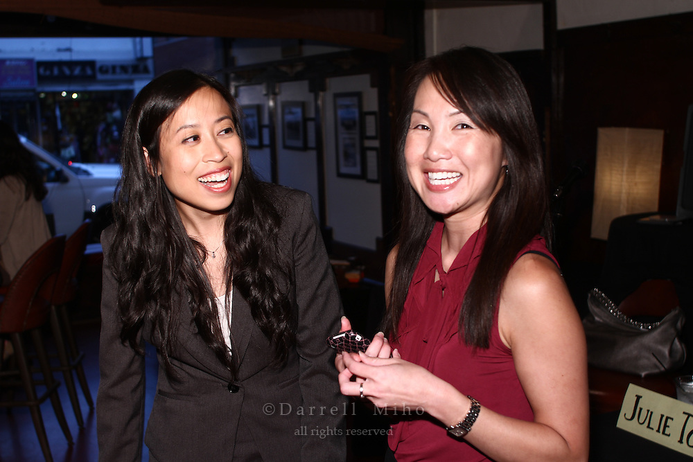 Sep. 08, 2010; Los Angeles, CA - KIND: Kids In Need of Defense panel discussion and mixer at the Far Bar in Little Tokyo. ..photo credit: Darrell Miho...(right) Moderator: Julie To, Staff Attorney, CA Dept of Real Estate.Panelists:
