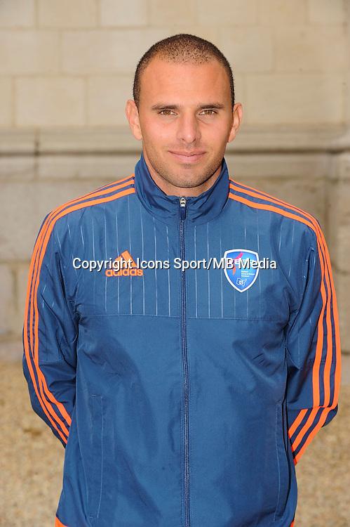 Sebastien RABAULT - 26.09.2015 - Photo officielle Bourg en Bresse Peronnas - Ligue 2<br /> Photo : Jean Paul Thomas / Icon Sport
