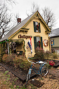Village Vintage shop in Leipers Fork, Tennessee.