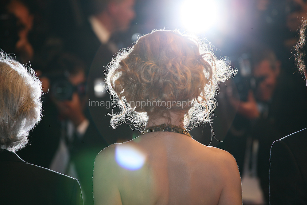 Actress Nicole Kidman being photographed by the press photographers at the Heminway & Gellhorn gala screening at the 65th Cannes Film Festival France. Friday 25th May 2012 in Cannes Film Festival, France.