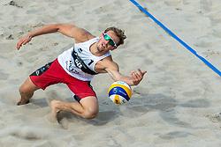 20-07-2018 NED: CEV DELA Beach Volleyball European Championship day 6<br /> Ondrej Perusic #1 CZE