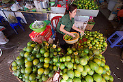 Phnom Penh, Cambodia. Central Market. Fruit.