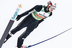 February 8, 2019 - Lahti, Finland - Magnus Krog competes during Nordic Combined, PCR/Qualification at Lahti Ski Games in Lahti, Finland on 8 February 2019. (Credit Image: © Antti Yrjonen/NurPhoto via ZUMA Press)