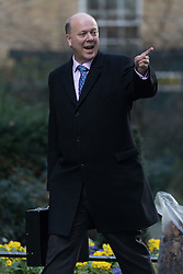 © Licensed to London News Pictures. 28/02/2017. LONDON, UK.  Secretary of State for Transport, Chris Grayling arrives for a cabinet meeting at 10 Downing Street.  Photo credit: Vickie Flores/LNP