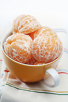 Mandarins in bowl - close-up