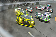 January 24-27, 2019. IMSA Weathertech Series ROLEX Daytona 24. Start of the 57th Daytona 24. #14 AIM Vasser Sullivan Lexus RC F GT3, GTD: Richard Heistand, Jack Hawksworth, Austin Cindric, Nick Cassidy