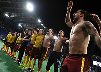 Sparta Praga Celebration Esultanza <br /> Roma 17-03-2016 Stadio Olimpico Football Europa League Round of 16 second leg 2015/2016 Lazio - Sparta Praha. Foto Andrea Staccioli / Insidefoto