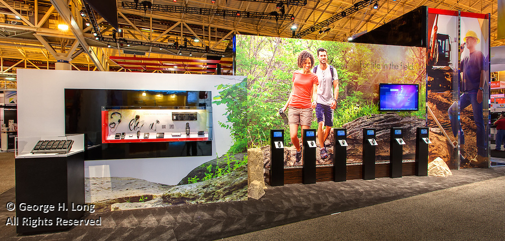 Kyocera booth at International CTIA Wireless 2012 trade show in New Orleans