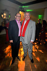 Left to right, NEIL SINCLAIR and CHRISTOPHER BIGGINS at the press night of the new Andrew Lloyd Webber  musical 'The Wizard of Oz' at The London Palladium, Argylle Street, London on 1st March 2011 followed by an aftershow party at One Marylebone, London NW1