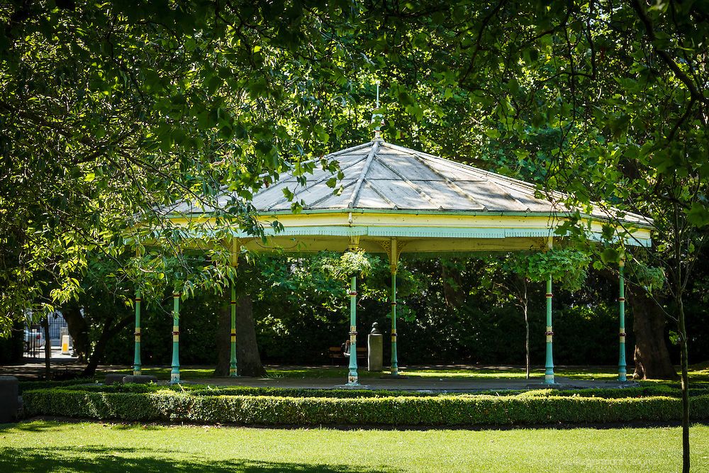 Band Stand in Stephen's Green, Dublin on a Sunny Day