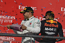 November 3, 2019, Austin, United States of America: Motorsports: FIA Formula One World Championship 2019, Grand Prix of United States, ..#77 Valtteri Bottas (FIN, Mercedes AMG Petronas Motorsport), #33 Max Verstappen (NLD, Aston Martin Red Bull Racing) (Credit Image: © Hoch Zwei via ZUMA Wire)