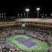 March 7, 2015, Indian Wells, California:<br /> A general view of Stadium 2 during the McEnroe Challenge for Charity presented by Masimo at the Indian Wells Tennis Garden in Indian Wells, California Saturday, March 7, 2015.<br /> (Photo by Billie Weiss/BNP Paribas Open)