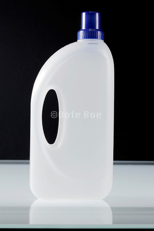 a household liquid clothing soap container