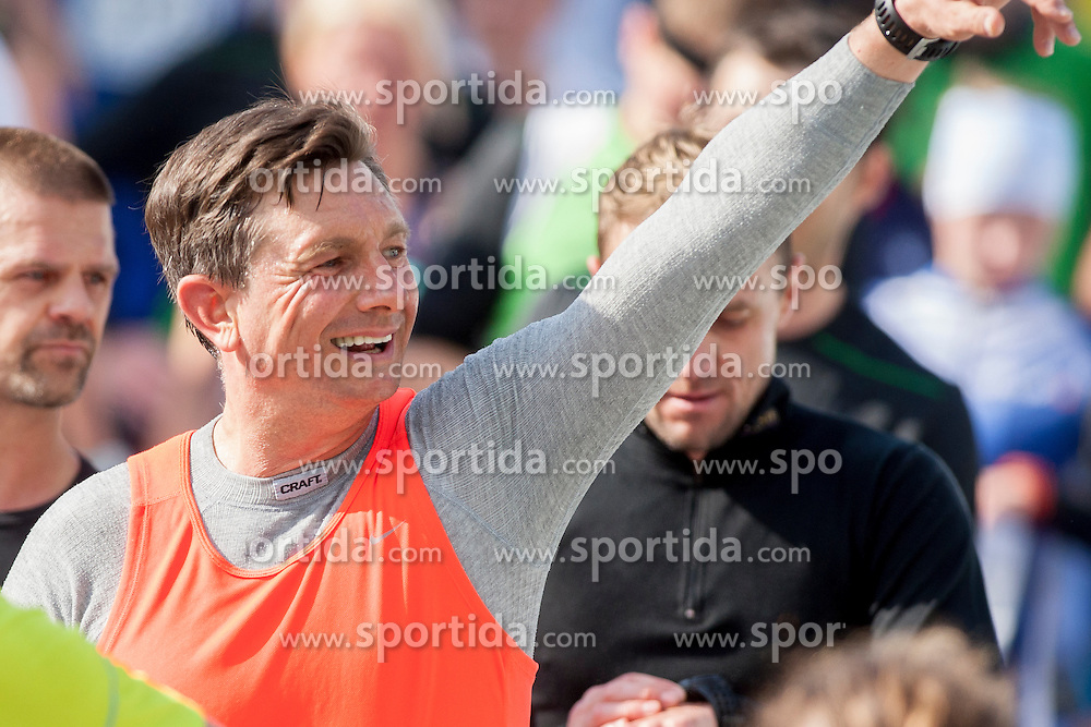 Borut Pahor, president of Slovenia during 19th Ljubljana Marathon 2014 on October 26, 2014 in Ljubljana, Slovenia. Photo by Urban Urbanc / Sportida.com