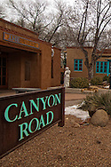 Santa Fe, New Mexico, Canyon Road