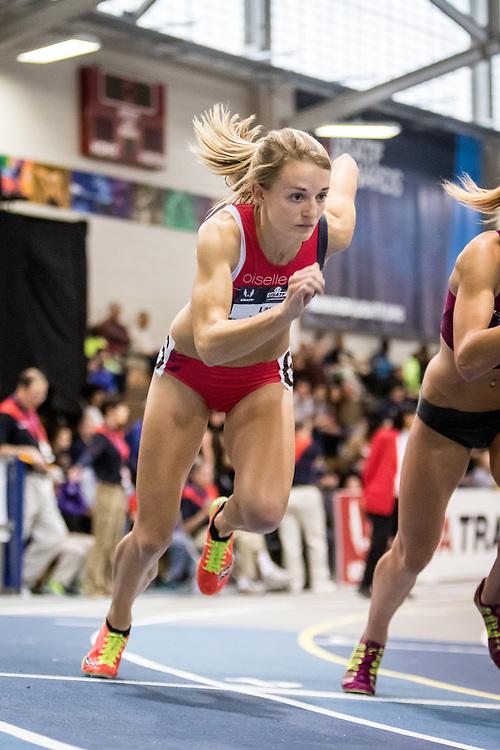 USATF Indoor Track & Field Championships: womens 1000, Lauren Wallace, Oiselle