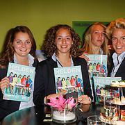 NLD/Ridderkerk/20120911 - Presentatie magazine Helden, Ajax damesvoetbal team