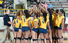 2017 A&T Volleyball vs Savannah State