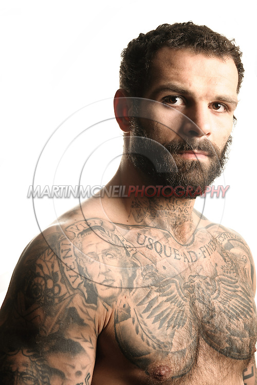 A portrait of mixed martial arts athlete Alessio Sakara