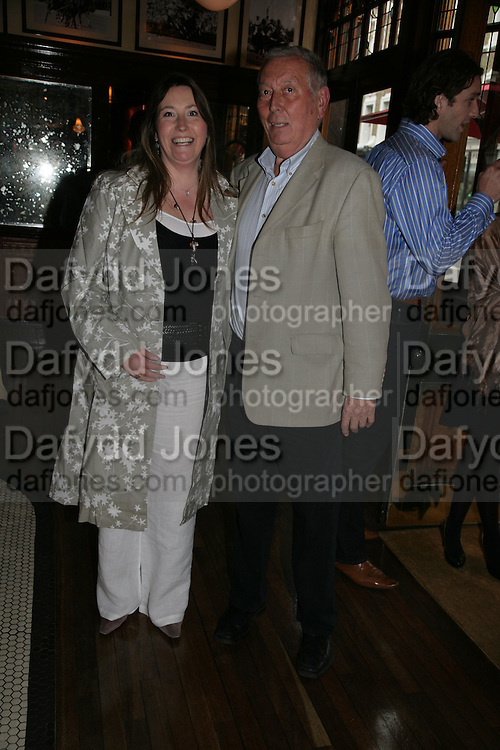 Robert and Elizabeth Sims, PJ's Annual Polo Party . Annual Pre-Polo party that celebrates the start of the 2007 Polo season.  PJ's Bar &amp; Grill, 52 Fulham Road, London, SW3. 14 May 2007. <br />