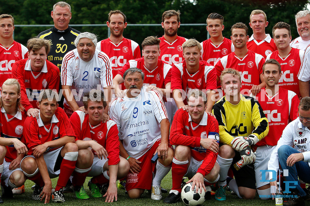 JOURE, 07-07-2015, Regioteam Joure - All Star team Tsjechie , de legendarische Antonin Panenka in Joure. <br /> <br /> foto: Henk Jan Dijks