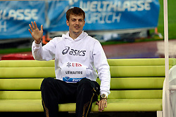 30.08.2012, Stadion Letzigrund, Zuerich, SUI, Leichtathletik, Weltklasse Zurich 2012, im Bild, Eroeffnungsfeier mit Christophe Lemaitre (FRA) // during Athletics World Class Zurich 2012 at Letzigrund Stadium, Zurich, Switzerland on 2012/08/30. EXPA Pictures © 2012, PhotoCredit: EXPA/ Freshfocus/ Andy Mueller..***** ATTENTION - for AUT, SLO, CRO, SRB, BIH only *****
