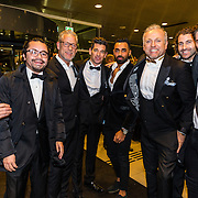NLD/Amsterdam/20161208 - Vipnight 10de Masters of LXRY, Gordon heukenroth en zijn broer John Heuckenroth en vrienden