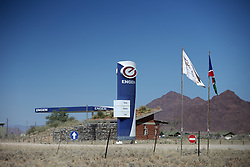 NAMIBIA SESRIEM 20APR14 - <br /> <br /> Engen petrol station at Sesriem, Namibia.<br /> <br /> jre/Photo by Jiri Rezac<br /> <br /> <br /> <br /> © Jiri Rezac 2014