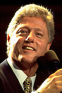 Candidate for US President Bill Clinton.